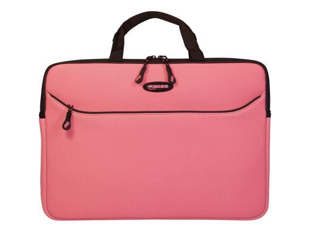 """Mobile Edge Pink 13.3"""" SlipSuit Neoprene Sleeve Model MESSMX-13"""