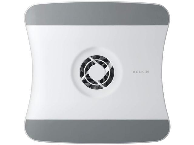 BELKIN Laptop Cooling Stand with Wave Design, 11 1/2 x 12 1/2 x 1 3/8, White F5L001