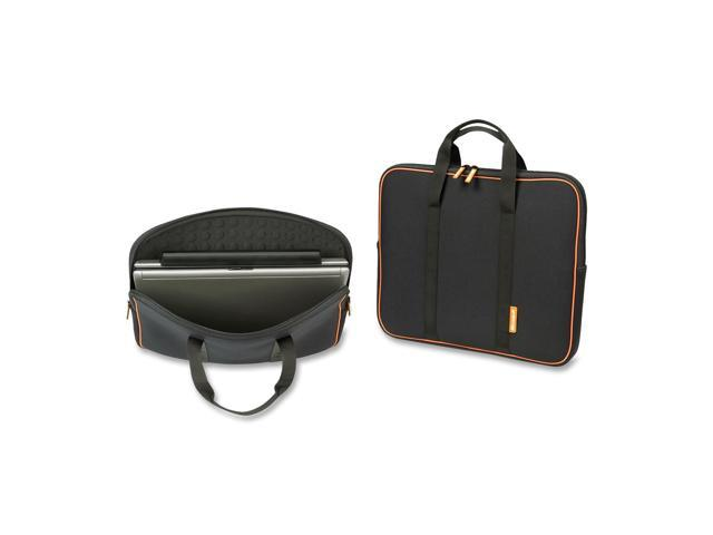 "Microsoft Black 15.4"" Neoprene Laptop Sleeves Model 39501"
