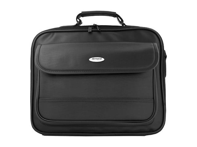 "Inland Black 15.6"" Laptop Notebook Briefcase Model 02450"