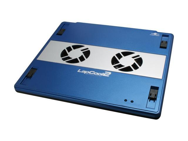VANTEC LapCool 2 Notebook Cooler with Dual Adjustable Speed Fans LPC-301