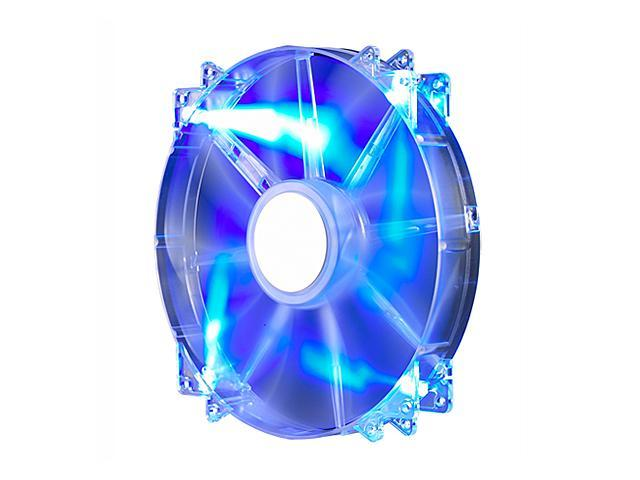 Cooler Master MegaFlow 200 - Sleeve Bearing 200mm Blue LED Silent Fan for Computer Cases