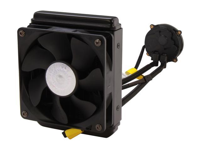 Cooler Master Seidon 120M - All-In-One CPU Liquid Water Cooling System with 120mm Radiator and Fan