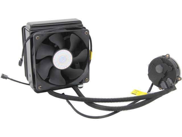 Cooler Master Seidon 120XL – Push-Pull CPU Liquid Water Cooling System with 120mm Radiator and 2 Fans