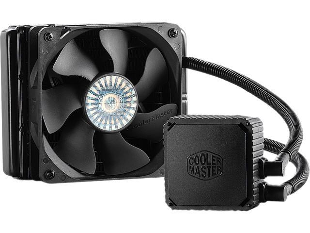 Cooler Master Seidon 120V - Compact All-In-One CPU Liquid Water Cooling System with 120mm Radiator and Fan