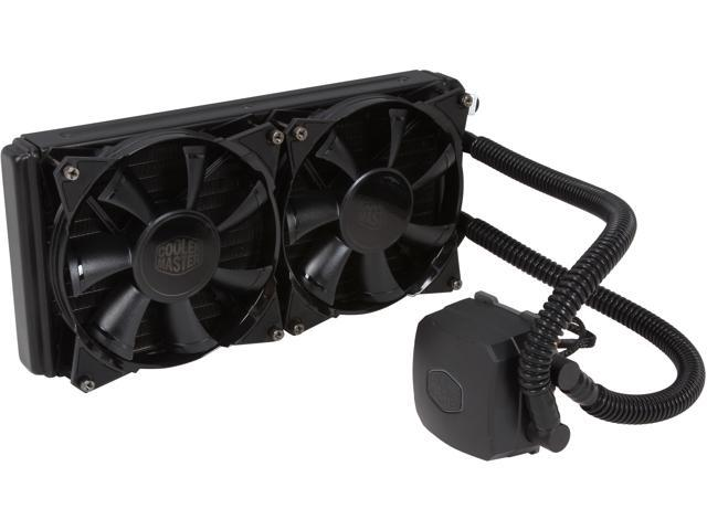 Cooler Master Nepton 280L - All-In-One CPU Liquid Water Cooling System with 280mm Radiator and 2 JetFlo Fans