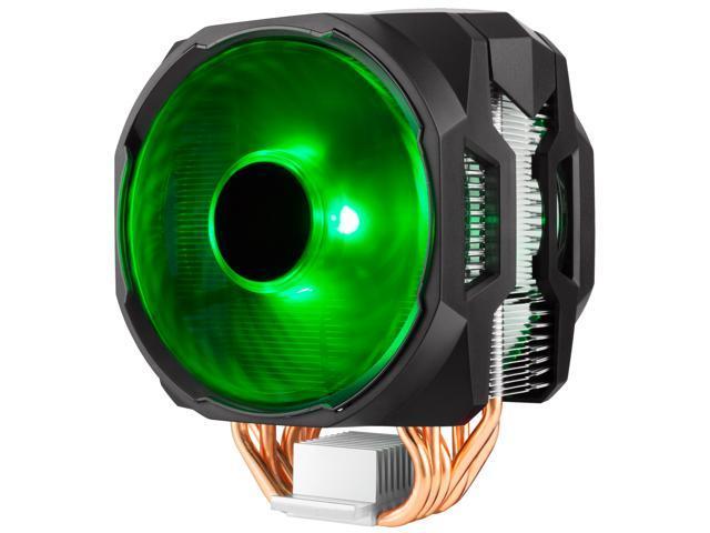 28eed8b56a0 Cooler Master MA610P RGB CPU Air Cooler, 6 CDC Heatpipes, Dual 120mm RGB  MasterFan