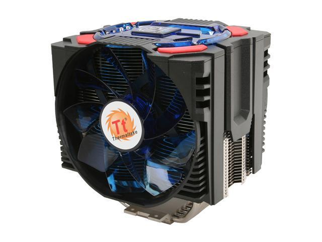 Thermaltake CLP0575 Frio OCK Universal CPU Cooler Ultimate OverClocking King Intel LGA-2011 Ready Supports up to 240W TDP Dual 130mm VR Fans