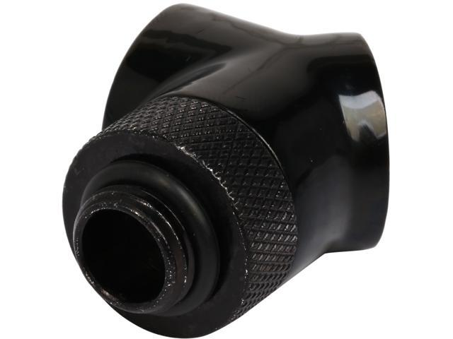 Thermaltake Pacific CL-W051-CU00BL-A Pacific DIY LCS Black G1/4 45 Degree Adapter Fitting