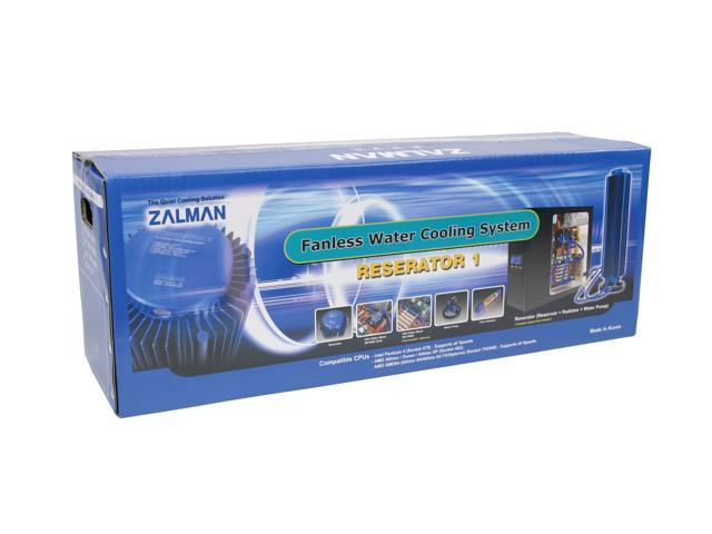 ZALMAN RESERATOR 1 Fanless Water Cooling System (Reservoir+Radiator+Water Pump)
