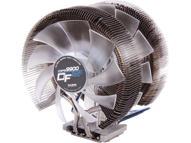 ZALMAN CNPS9900 D/F 140mm & 120mm Long Life Bearing Dual Fans Ultra Quiet CPU Cooler