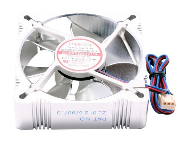 EVERCOOL AL8025B 80mm Case Fan