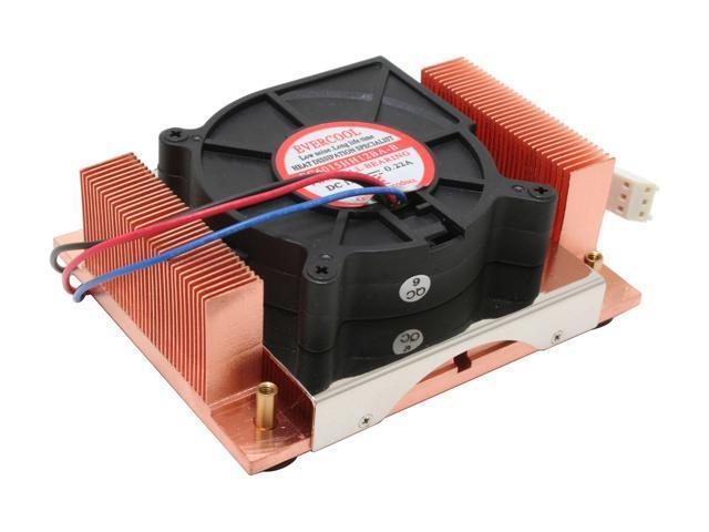 EVERCOOL EC-CUW15-B615 60mm 2 Ball CPU Cooler