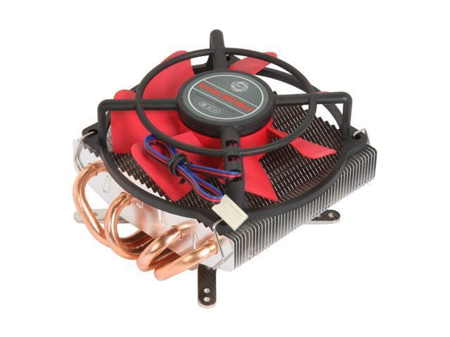 EVERCOOL HPK-10025EA 100mm EL long life bearing (Life Expectancy at 25°C 50000HR) Intel Core i7 Heat Pipe CPU Cooler