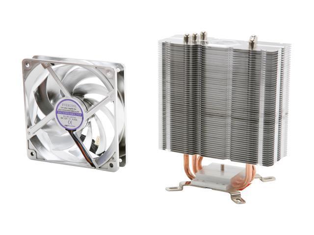 EVERCOOL HPM-12025 120mm Ever Lubricate Transformer 3 CPU Cooler