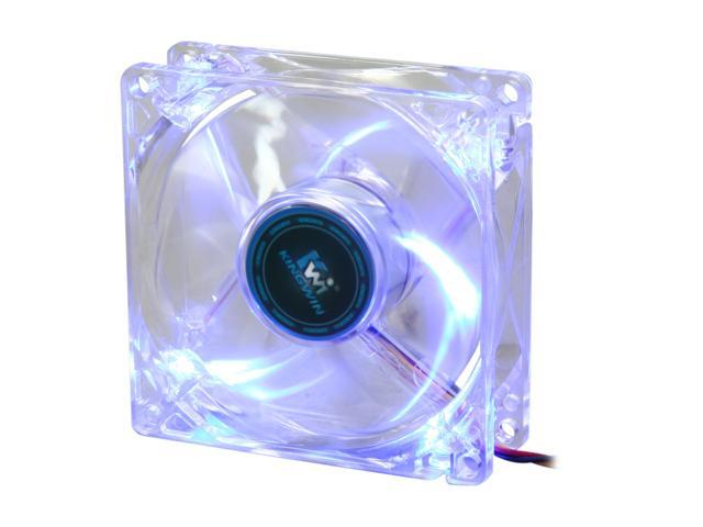 KINGWIN CFBL-08LB 80mm Blue LED Case cooler