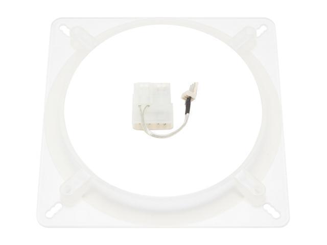 AeroCool SilverLightning140mm 140mm White LED Case Cooling Fan