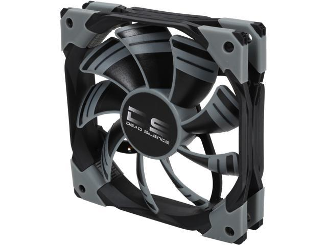 AeroCool DS 120mm Black 120mm Patented Dual layered blades with noise and shock reduction frame