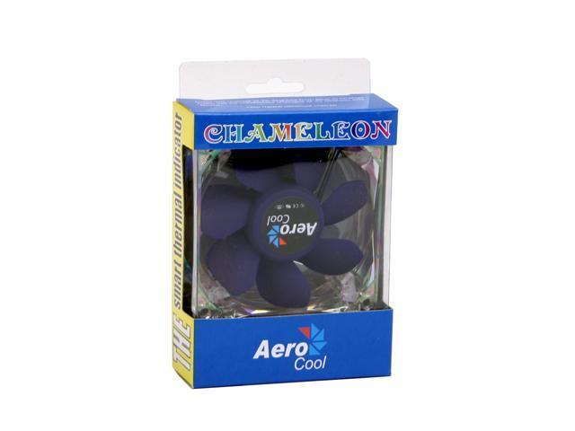AeroCool CHAMELEON 80mm Multi-Color LED Case Cooling Fan