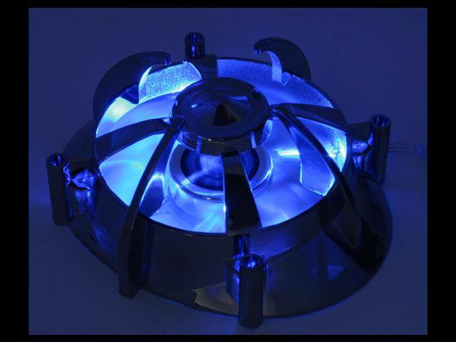AeroCool Centaurus I 80mm Blue LED Case Cooling Fan