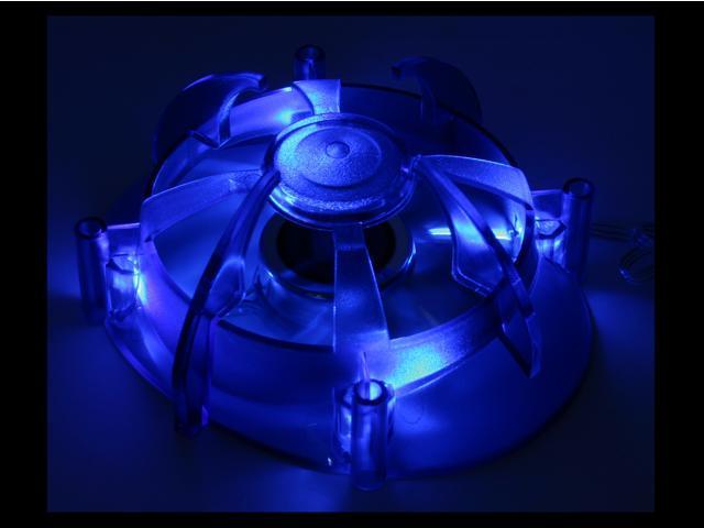 AeroCool Centaurus II 80mm Blue LED Case Cooling Fan