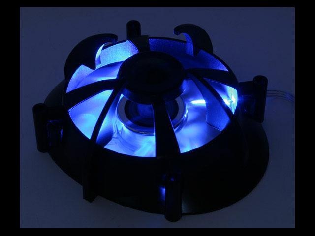 AeroCool Centaurus III 80mm Blue LED Case Cooling Fan