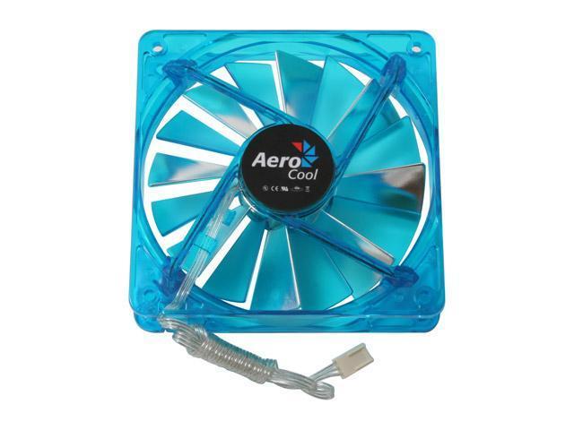 AeroCool XtremeTurbine-Blue 120mm Case Cooling Fan