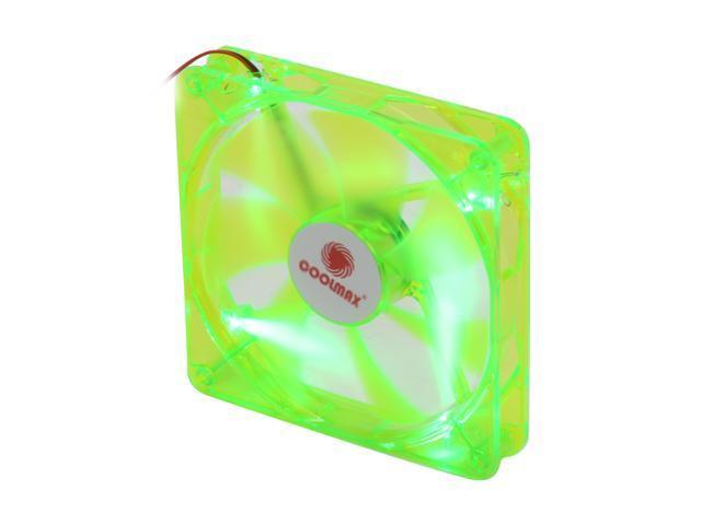 COOLMAX CMF-1425-GN UV Crystal LED Cooling Case Fan