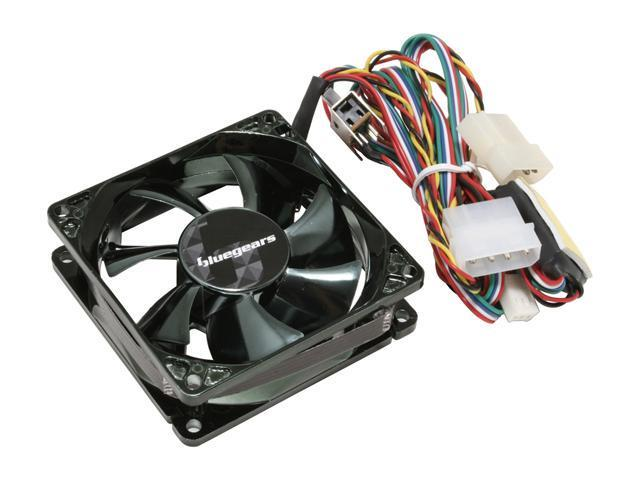bgears b-flexi80 80mm Red, Blue, Green LED Case Fan - OEM