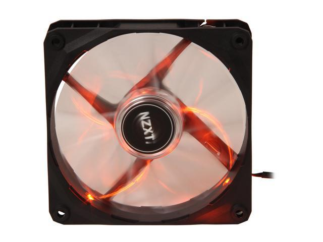 NZXT Air Flow Series RF-FZ120-O1 Orange LED Case Fan