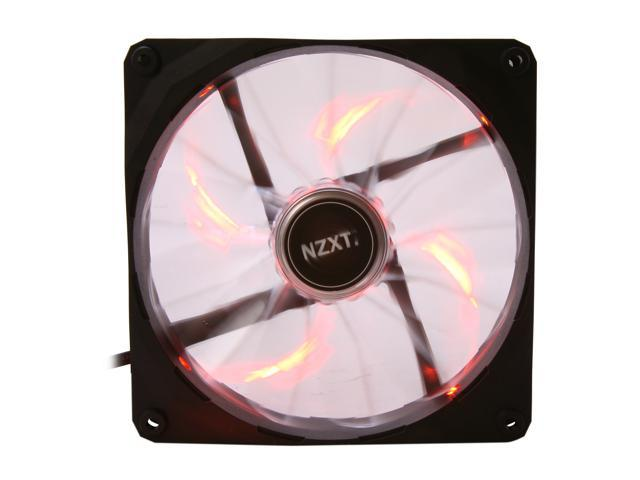 NZXT Air Flow Series RF-FZ140-O1 Orange LED Case Fan