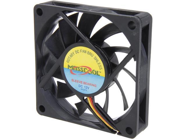 MASSCOOL FD07015S1M3/4 70mm Case Cooling Fan