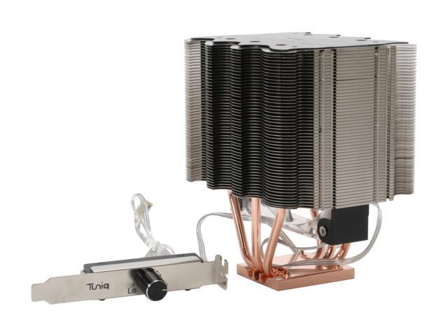 Tuniq Tower 120 Universal CPU Cooler 120mm LED Cooling Fan and Fan Controller/Heatsink