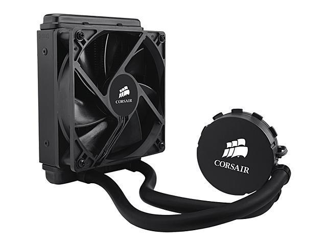 CORSAIR Hydro Series H50 120mm Quiet Edition Liquid CPU Cooler – Intel Only