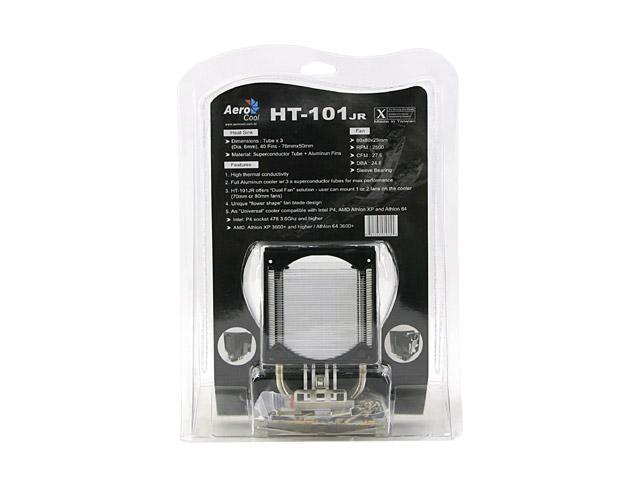 AeroCool HT-101jr 80mm Sleeve CPU Cooler