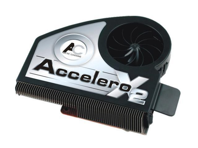 ARCTIC COOLING Accelero X2 Fluid Dynamic VGA Cooling Fan with Heatsink