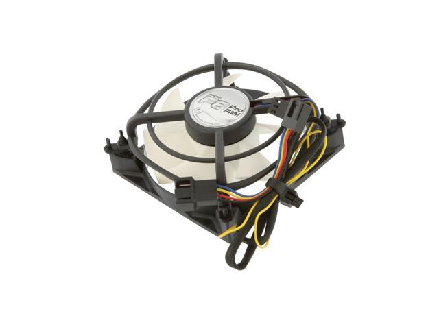ARCTIC F8 Pro PWM Fluid Dynamic Bearing Case Fan, 80mm PWM Speed Control, 33CFM at 22dBA