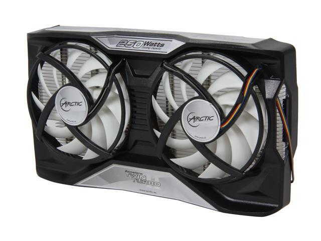 ARCTIC COOLING ACCEL-TT II Fluid Dynamic Accelero TWIN TURBO II VGA Cooler for NVIDIA and AMD Radeon