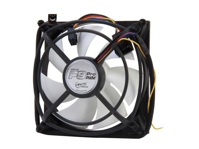 ARCTIC F9 Pro PWM Fluid Dynamic Bearing Case Fan, 92mm PWM Speed Control, 39CFM at 23dBA
