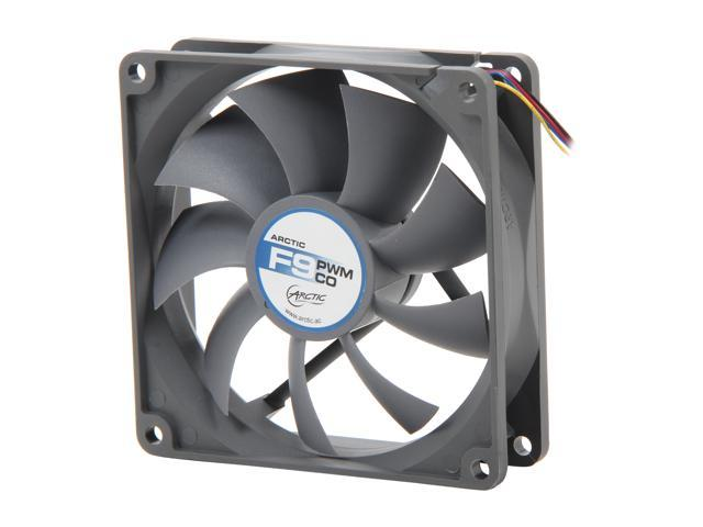 ARCTIC F9 PWM CO Double Ball-Bearings Case Fan, 92mm PWM Speed Control, for 24/7 Operation