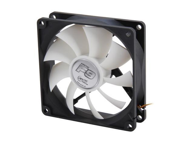 ARCTIC F9 Fluid Dynamic Bearing Case Fan, 92mm Quiet Blade Design, 43CFM at 23dBA
