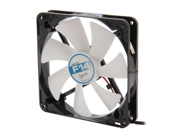 ARCTIC F14 Fluid Dynamic Bearing Case Fan, 140mm Quiet Blade Design, 77CFM at 22dBA