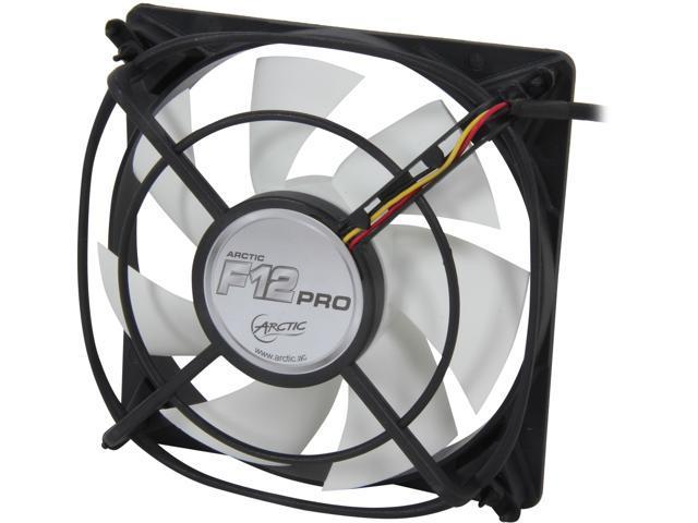 ARCTIC F12 Pro Fluid Dynamic Bearing Case Fan, 120mm Quiet Blade Design, 54CFM at 22dBA