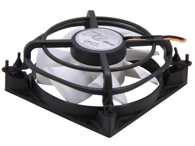 ARCTIC F8 Pro Fluid Dynamic Bearing Case Fan, 80mm Quiet Blade Design, 33CFM at 22dBA