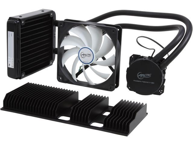 ARCTIC Accelero Hybrid II-120, Liquid/Air Combo Extreme Cooling for Hi-Performance nVidia/AMD VGA