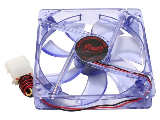 Rosewill RFA120L-B 120mm Blue LED Case Fan