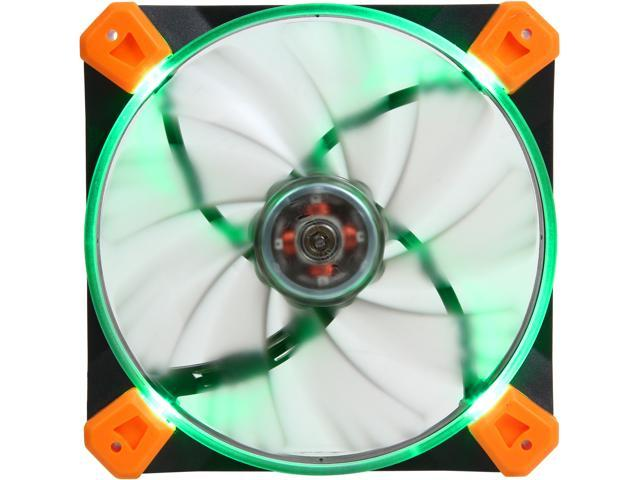 Antec TrueQuiet 120 UFO Gr Green LED Case Fan