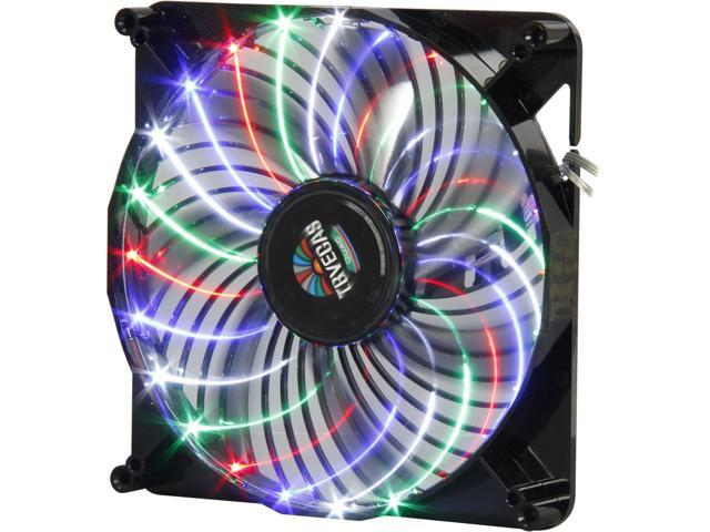 ENERMAX UCTVQ18A 180mm Blue/Red/Green/White LED Case Fan