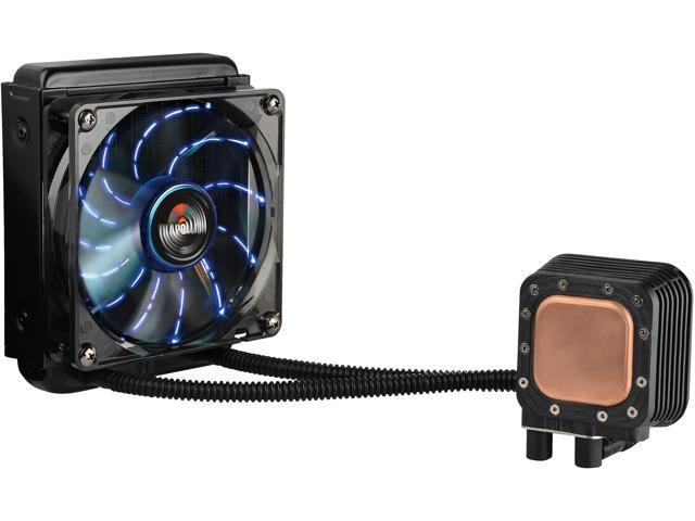 Enermax Liqmax 120S Aluminum All-in-One Liquid Cooler With 120mm Circular Blue LED Fan
