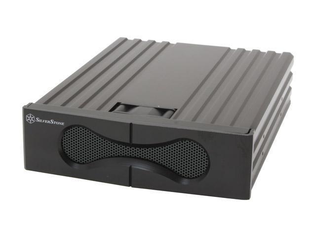SILVERSTONE SST-FP53-B Aluminum Black HDD Cooling Heatsink